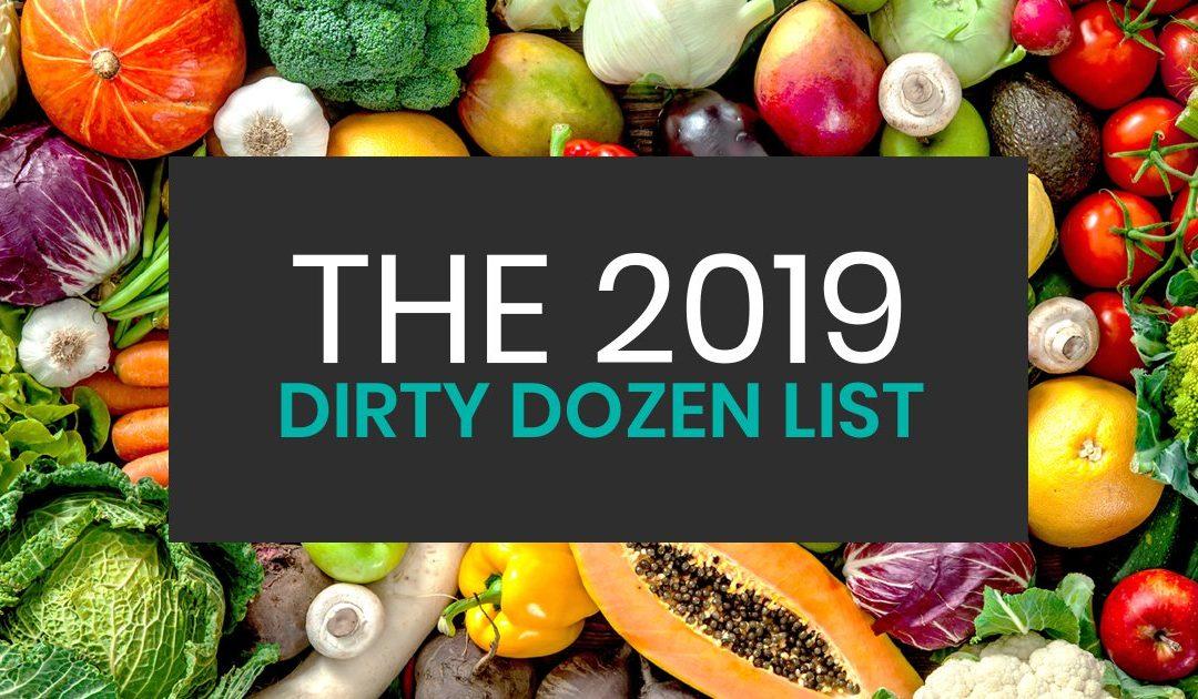 The 2019 Dirty Dozen List & Clean 15 List