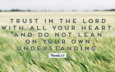 Trust in Yehovah, Lean Not On Your Own Understanding…