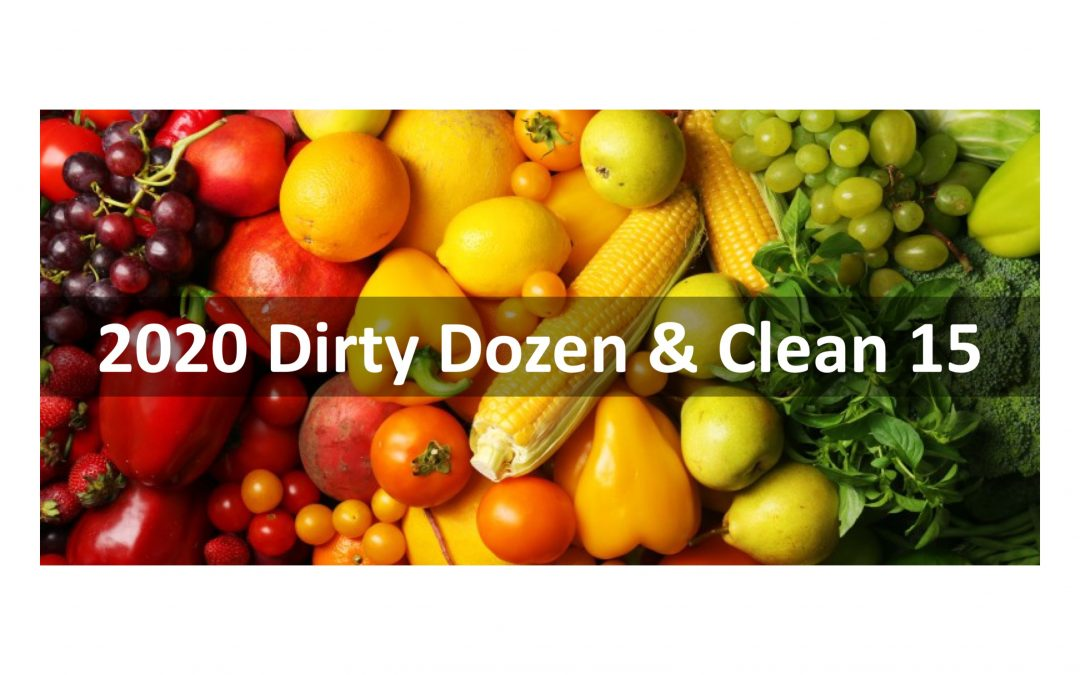 The 2020 Dirty Dozen & Clean 15 Lists from the Environmental Working Group