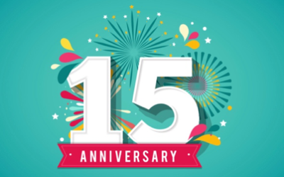 We're Celebrating 15 Years!!!