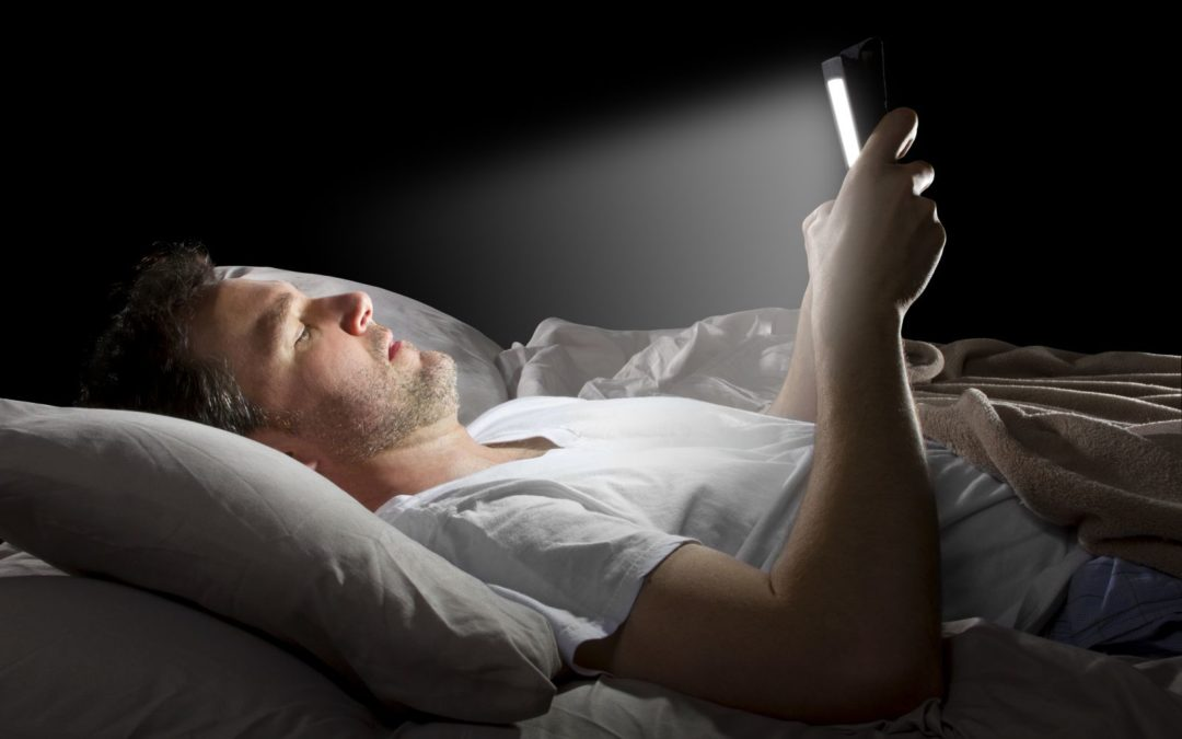 Sleep-Wake Cycles & The Kind of Light You're Exposed to Before Bed